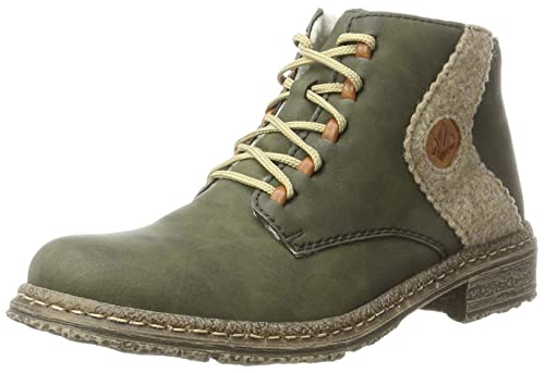 rieker Damen Stiefeletten Grün Schuhe, Größe:39