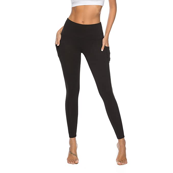 518c9ba2a85 RURING Women's High Waist Yoga Pants Tummy Control Workout Running 4 Way  Stretch Yoga Leggings