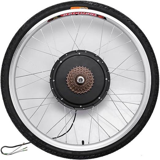 Kit de conversión de motor eléctrico de rueda trasera para bicicleta (48 V y 1000 W), pantalla LCD/LED, 66 x 4,95 cm), Hombre, LCD Display: Amazon.es: Deportes y aire libre