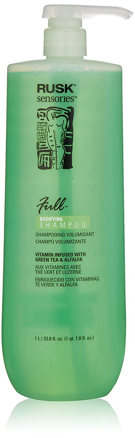 Amazon.com: RUSK Sensories Full Green Tea and Alfalfa Bodifying Shampoo, 33.8 fl. oz.: Luxury Beauty