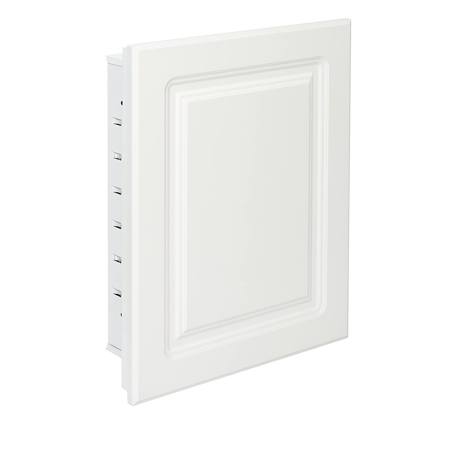 American Pride G9612RPR1 G9612RPR1-Recessed White Raised Panel Door, Steel Body Medicine Cabinet 16 x 20