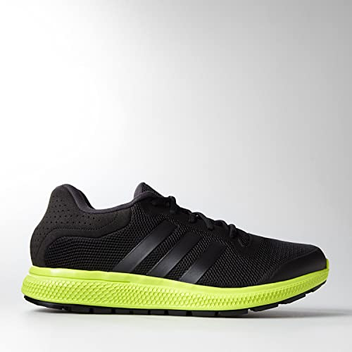 hot sale online 9a071 e981d Adidas Mens Energy Bounce Running Shoes Black Yellow (9.5)