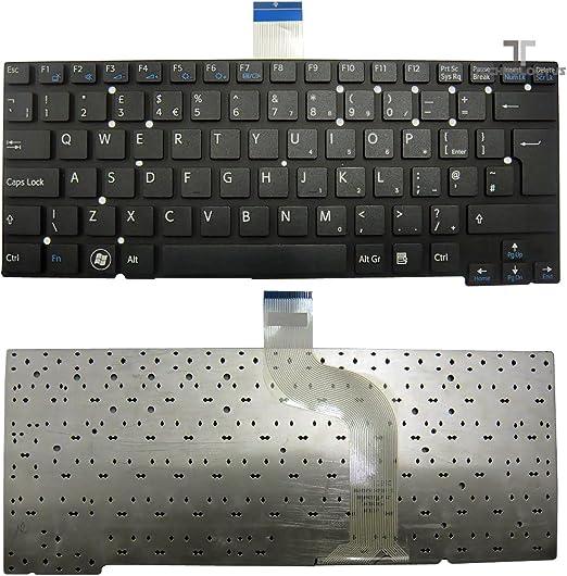 Negro mate teclado para SONY VAIO SVT131290X ...