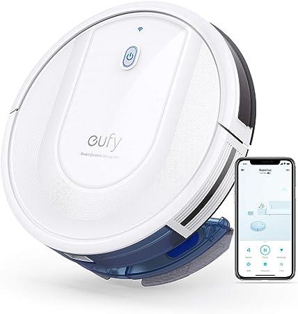 eufy RoboVac G10 Hybrid, Robot Limpiador Aspirador con navegación dinámica Inteligente, Barre y friega 2 en 1, Wi-Fi, superfino, Potencia de succión de 2000 Pa, silencioso, Carga automáticamente: Amazon.es: Hogar