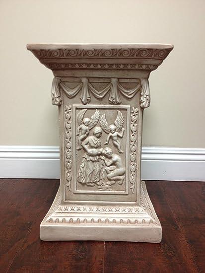 decorative pedestals columns wedding classic decorative roman greek festival pedestal column home decor statue amazoncom