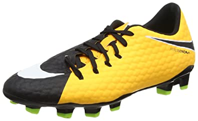 newest 0788e 33060 Nike Hypervenom Phelon III FG, Chaussures de Football Hommes, (Laser Orange  Black-