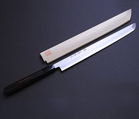 Amazon.com: Yoshihiro Blue 1 de alto carbono suminagashi ...