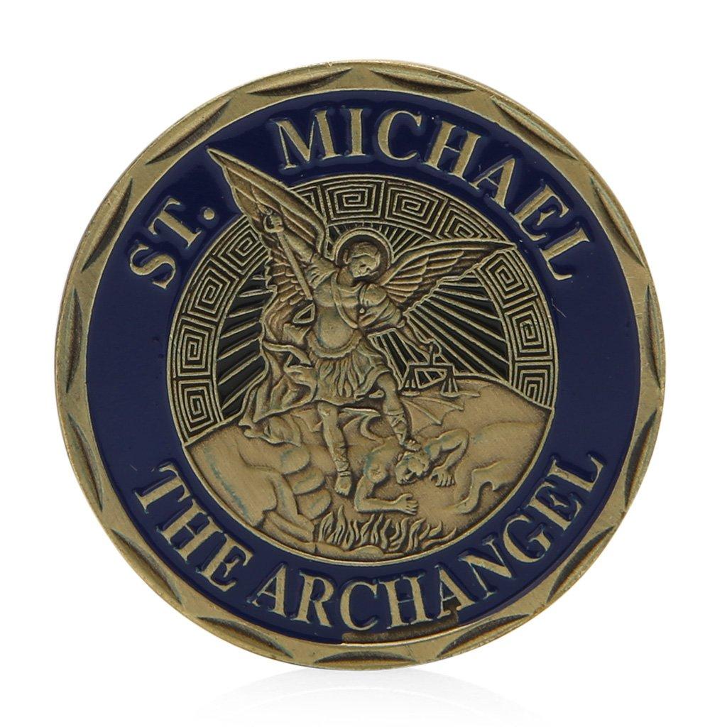 MAZE MA Moneda Conmemorativa de San Miguel Arc/ángel