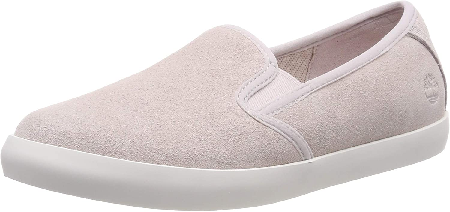 Dausette Leather Slip-on Trainers