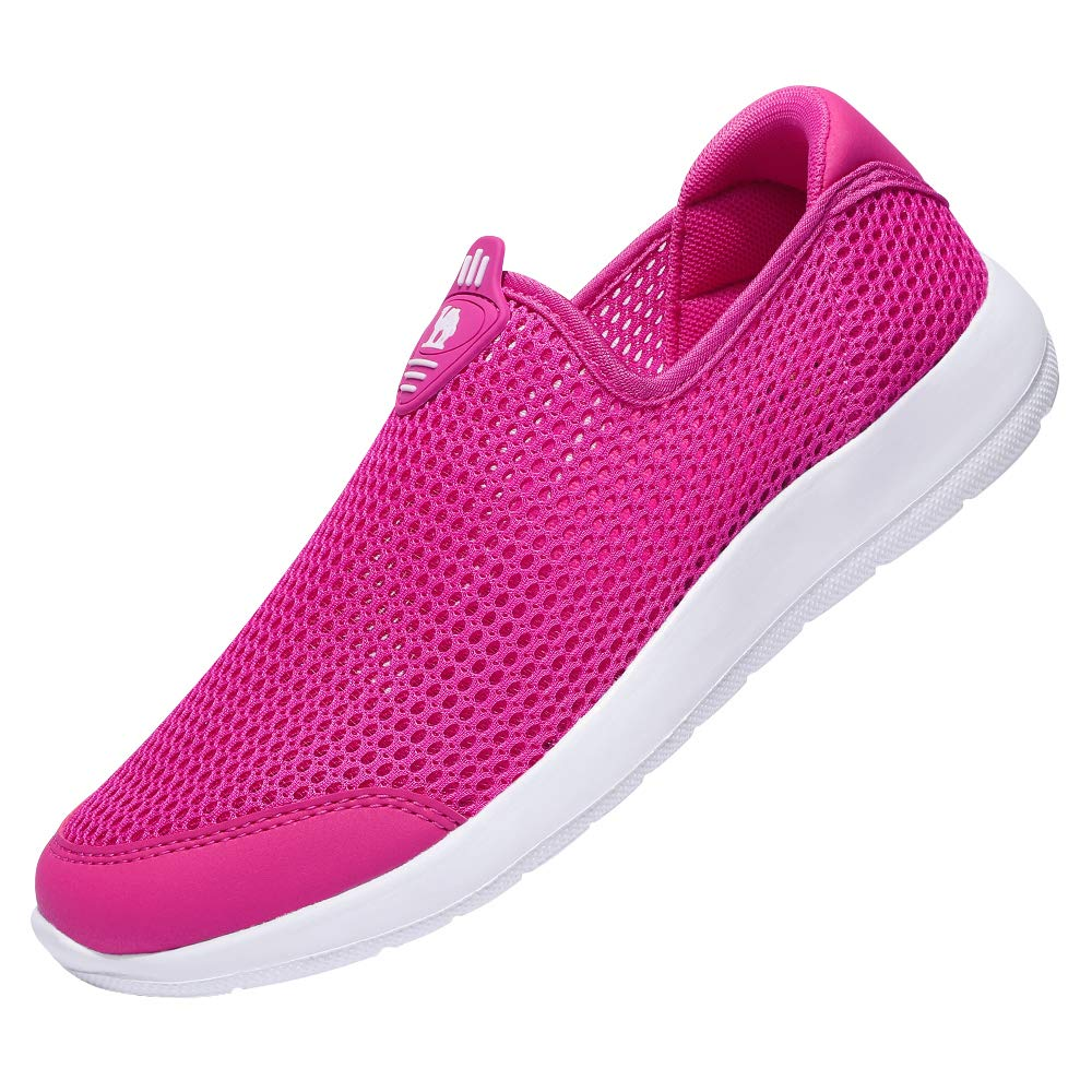 CAMEL CROWN Women's Walking Shoes Mesh Breathable Casual Athletic Lightweight Slip On Sneakers