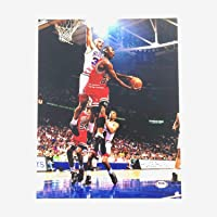 $360 » Charles Barkley Autographed Signed 11x14 Photo PSA/DNA Sixers Autographed Michael Jordan