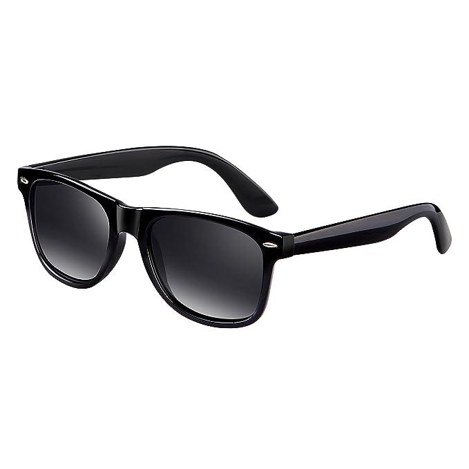 FEIDU Retro Wayfarer Gafas de Sol Polarizadas para Hombre y Mujer UV400 Protección FD2149 (Verde
