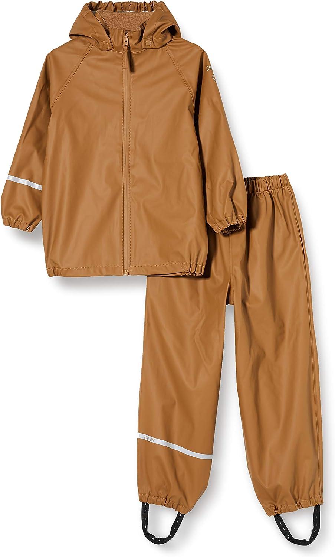 Celavi Rainwear Ser-Recycle Pu Giacca da Pioggia Unisex-Bambini