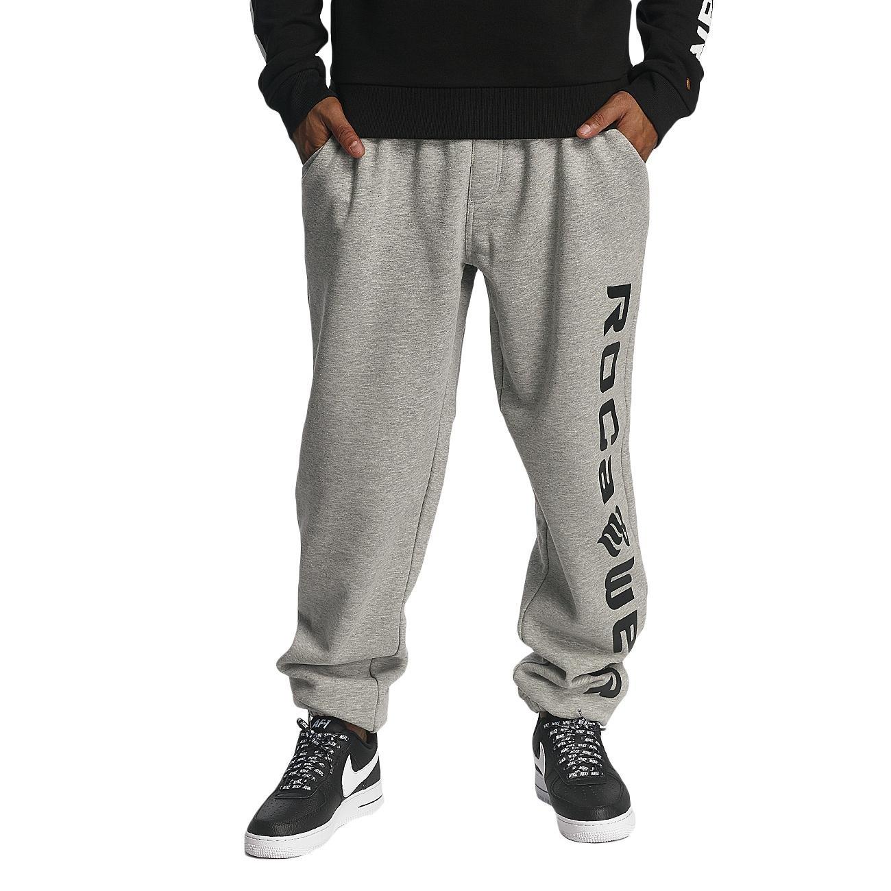 Rocawear Männer Sport-Jogginghose Basic in grau