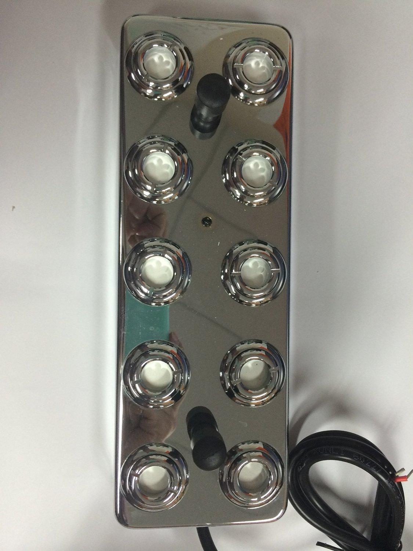 10 Head Ultrasonic Mist Maker Fogger Humidifier +Transformer Ce by Mist Maker