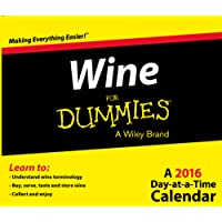 Wine For Dummies 2016 Day-at-a-Time Box Calendar