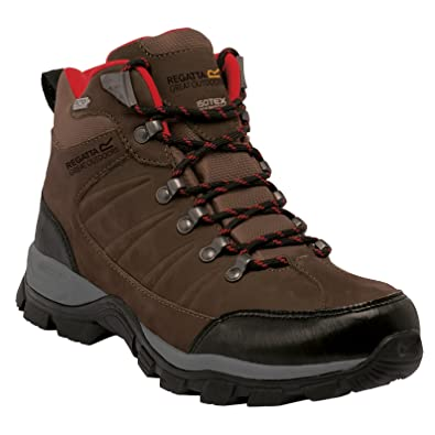 Great Outdoors Mens Borderline Mid Cut Hiking Boots