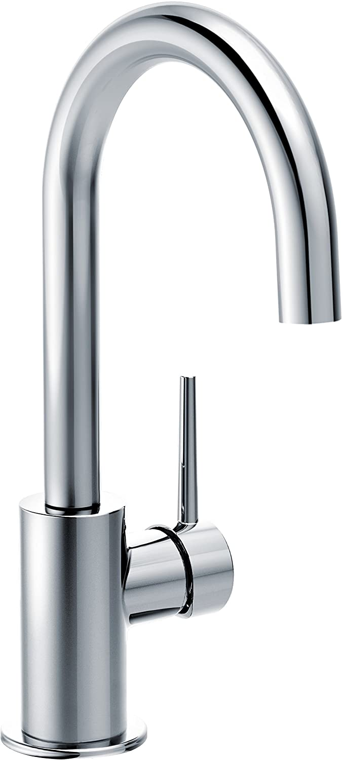 Delta Faucet 1959LF Trinsic Single Handle Bar/Prep Faucet, Chrome ...