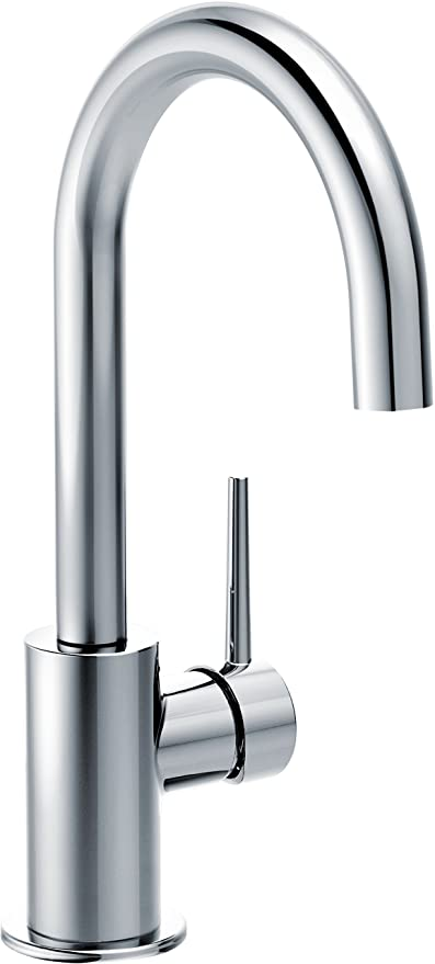 delta faucet trinsic single handle bar prep kitchen sink faucet chrome 1959lf - Delta Faucets Kitchen
