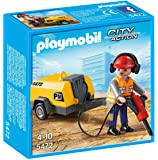 Playmobil 5472 Construction Worker with Jack Hammer