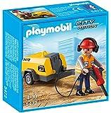 Playmobil - 5472 - Figurine - Ouvrier Avec Marteau-piqueur