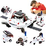 HOMOFY [2020 New Upgrade STEM Toys 6-in-1 Solar Robot Kit Learning Science Building Toys Educational Science Kits Powered by