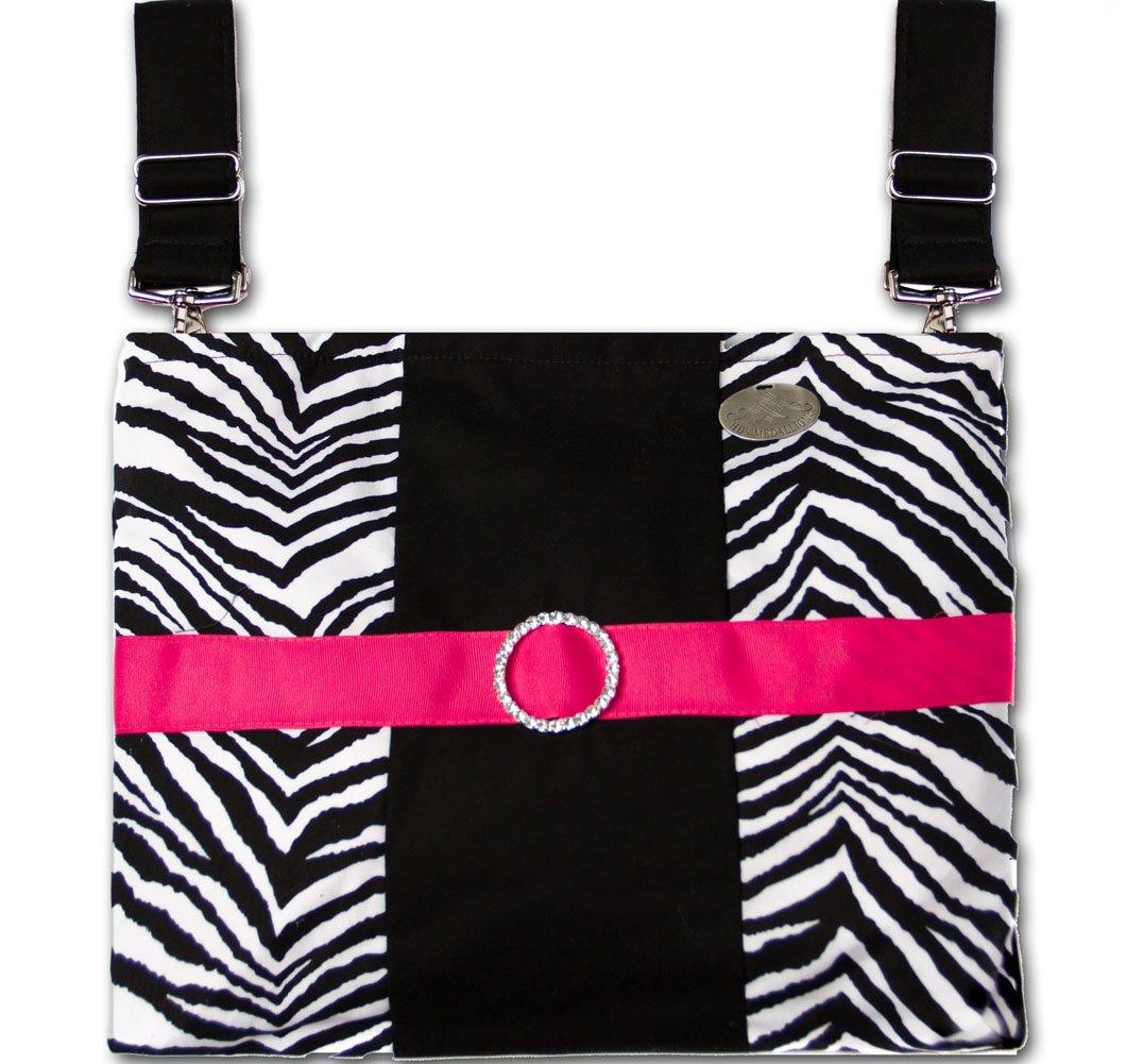 Zebra - Trendy, Functional Wheelchair/Power Chair/ Scooter/ CarryAll Bag