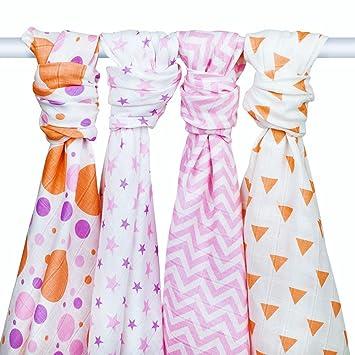 Receiving Blanket Vs Swaddling Blanket Simple MUSLIN SWADDLE BLANKETS Baby Girl Receiving Blankets By Zig Zag
