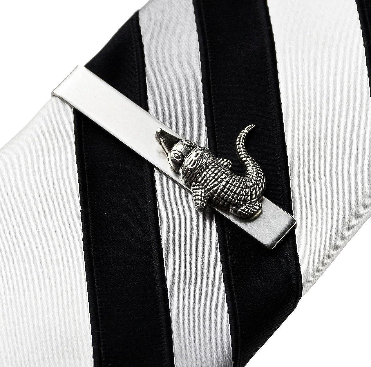 Sheilds Alligator tie clip.