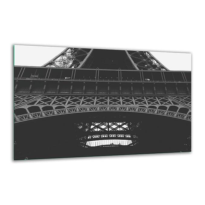 Placa de vitrocerámica, 80 x 52 cm, Color Negro, Placa de ...