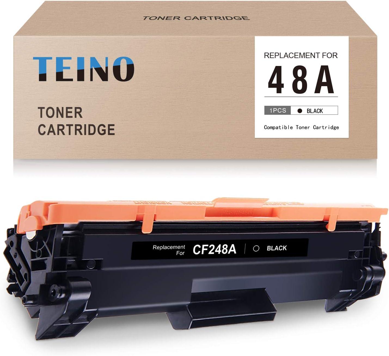 TEINO Compatible Toner Cartridge Replacement for HP 48A CF248A for Laserjet Pro MFP M29w M29a M29 M28w M28a M28 Laserjet Pro M15w M15 M15a M16 M16a M16w (Black, 1 Pack)