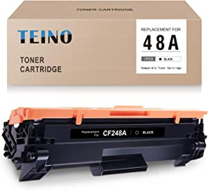 TEINO Compatible Toner Cartridge Replacement for HP 48A CF248A for Laserjet Pro MFP M29w M29a M29 M28w M28a M28 Laserjet Pro M15w M15 M15a M16 M16a M16w (Black, 1 Pack)