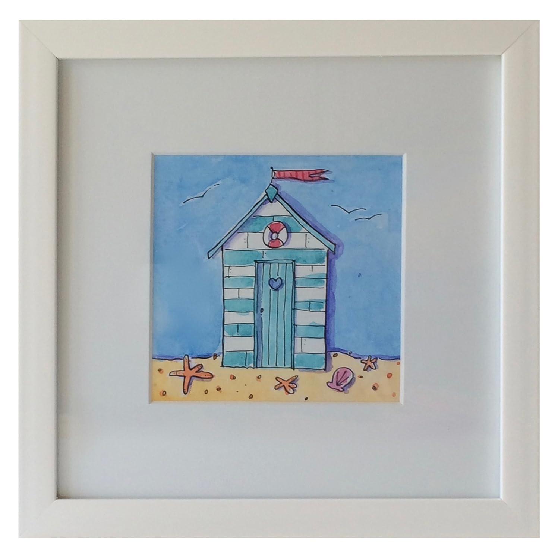 Helen Wiseman Beach Hut Stampa Art@Home P-TB01BH