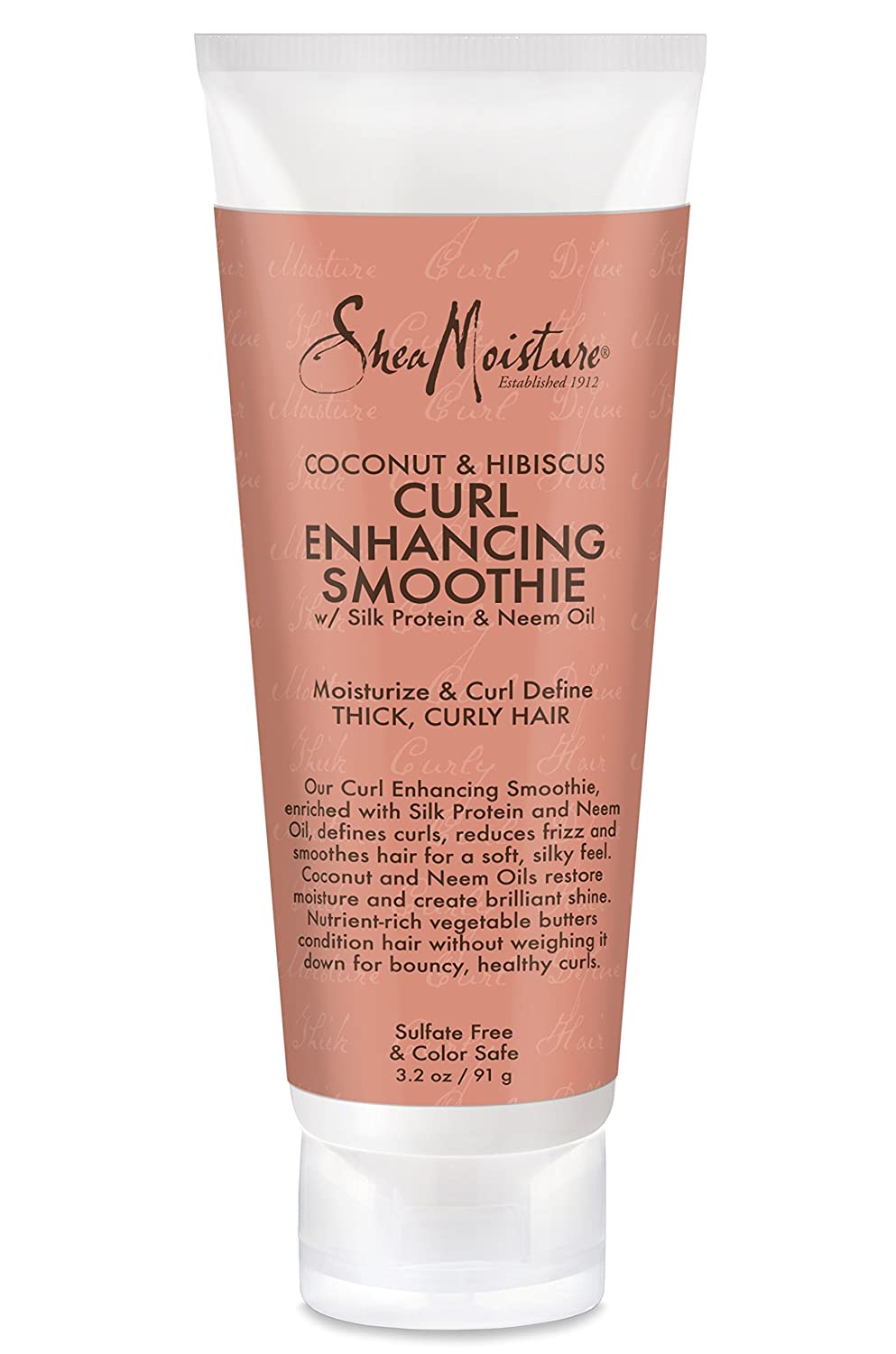 Shea Moisture Coconut and Hibiscus Curl Enhancing Smoothie Traval Size 3.2 Ounce