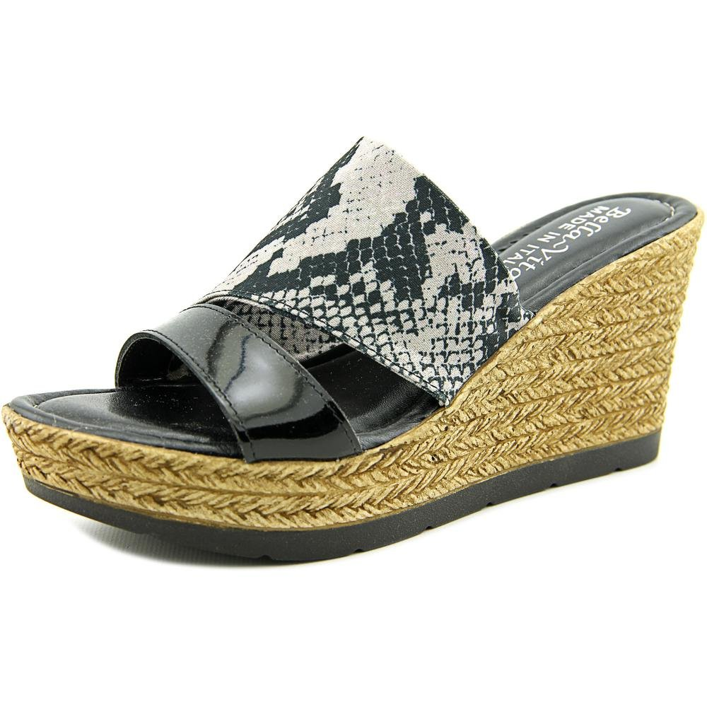 Bella Vita Women's Formia Wedge Sandal B01AAELFEA 9 B(M) US|Python Black