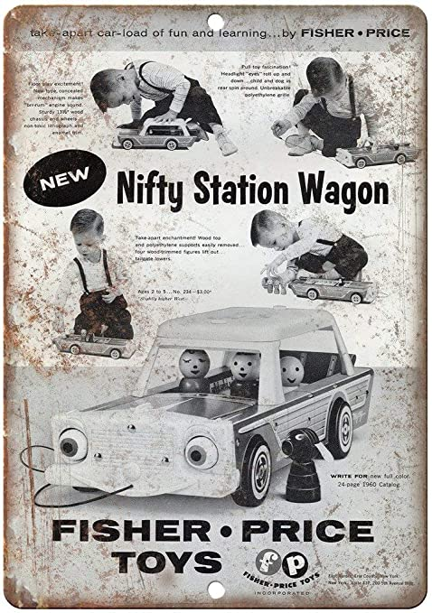 HALEY GAINES Fisher Price Toys Nifty Station Wagon Placa ...
