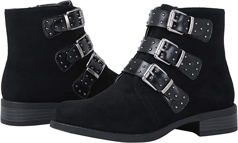 GLOBALWIN Women's Chloe Ankle Fashion Boots 7M