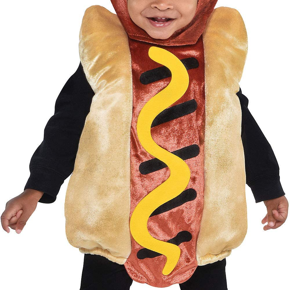 Suit Yourself Mini Hot Dog Halloween Costume for Babies with Included Accessories