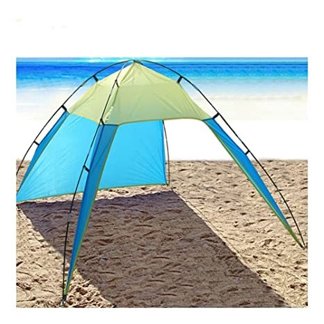 Charmant Portable Beach Canopy Sun Shade Triangle Patchwork Tent Shelter Camping  Fishing