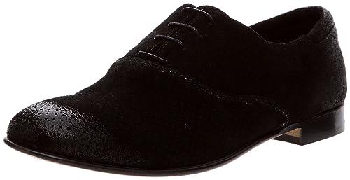 Atelier Voisin 5408_Noir - Zapatos de cuero para hombre, color negro, talla 41