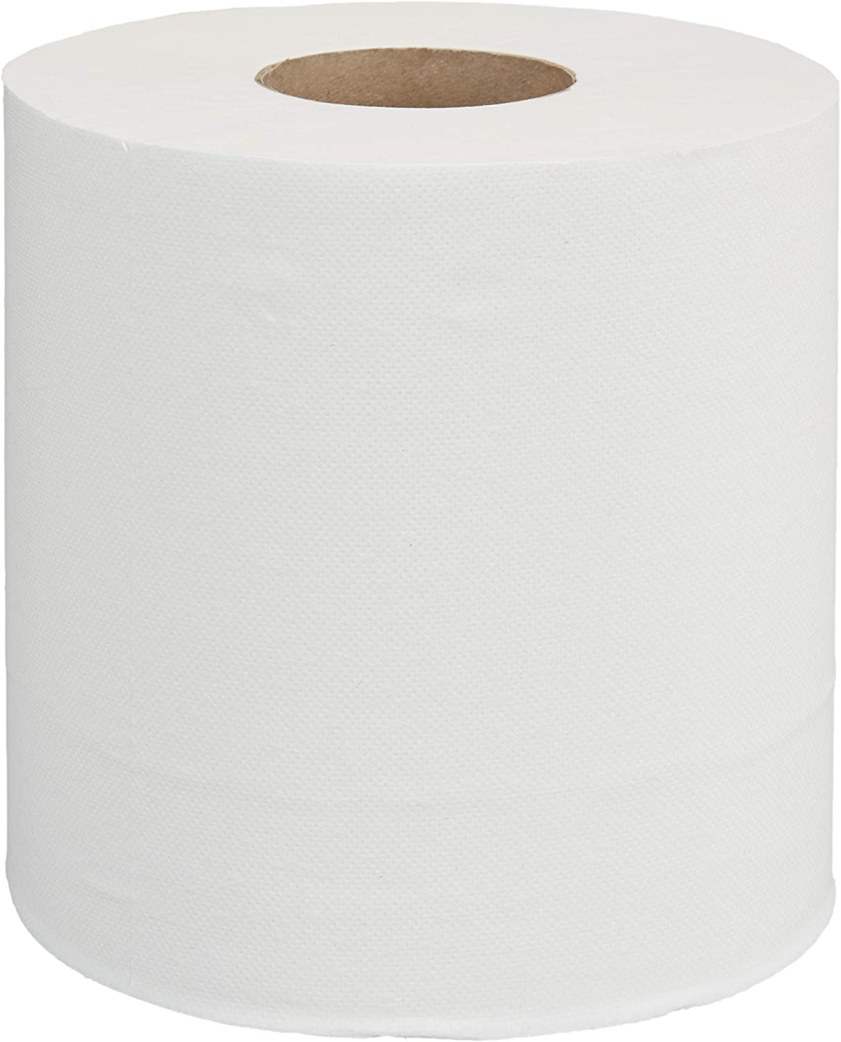 AmazonCommercial Ultra Plus Center Pull Towels, 600 Towels per Roll, 6 Rolls