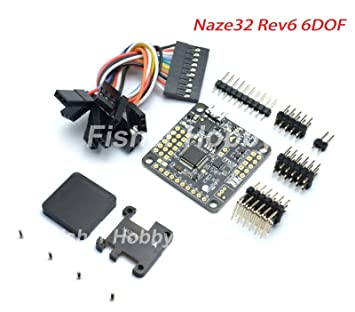 Amazon.com: FidgetGear NAZE32 Rev6 6DOF Flight Control Board + Mini on naze32 minimum osd diagram, naze32 soldering diagram, naze32 motor diagram, multiwii wiring diagram,