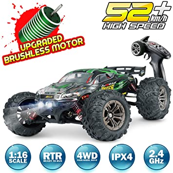 Amazon.com: Hosim RC Car 1:16 Scale 2847 Brushless Remote ...