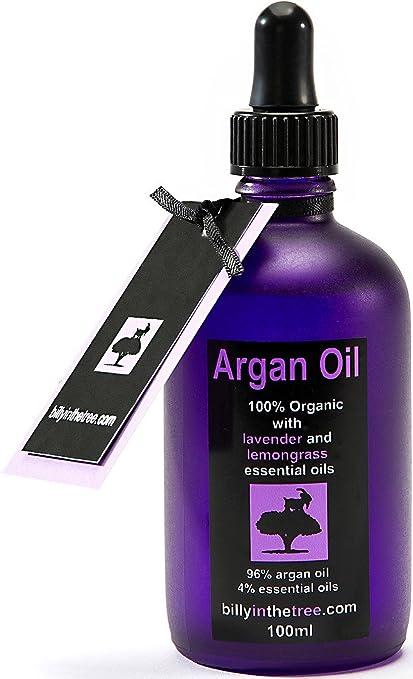 Puro Aceite De Argán con lavanda y citronela Aceites Esenciales.. 100 ml. 100