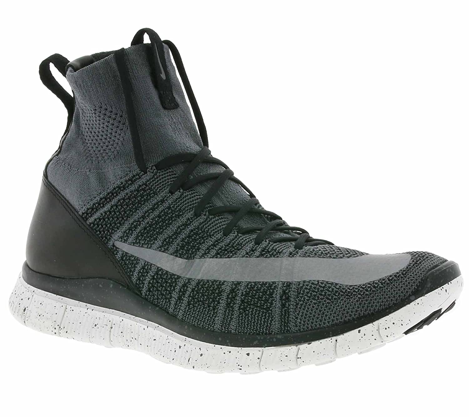 cheap for discount 2fd1f 53094 Amazon.com   NIKE Free Flyknit Mercurial CR7 805554-004  Grey Black White Silver Men s Shoes (Size 10)   Road Running