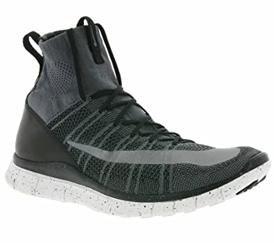 buy online 4d327 8833c Nike Free Mercurial Superfly Mens Shoe Dark GreyBlackSummit WhiteSilver  11.5