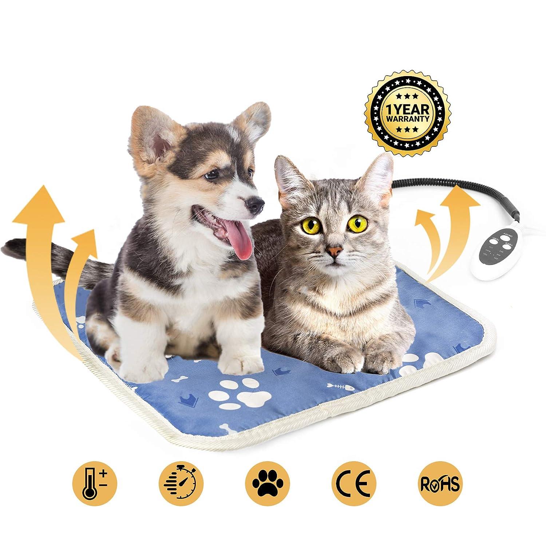 Cojín de Calefacción para Mascotas - Manta Eléctrica para Perros y ...