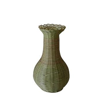 Amazon De Cvhomedeco Bambus Vase Fur Zuhause Buro Party