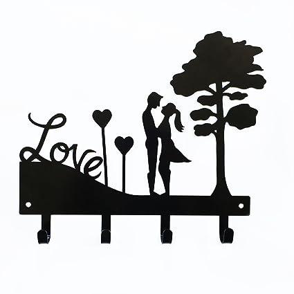 Amor Pareja llavero | llavero de pared | organizador de ...