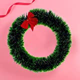 Collectible India Christmas Holy Wreath Pendant Garland Wall And Decor Hanging For Front Door Seasonal Décor for Christmas - Christmas Decorations For Home - Christmas Gifts-Christmas Tree Decorations Items